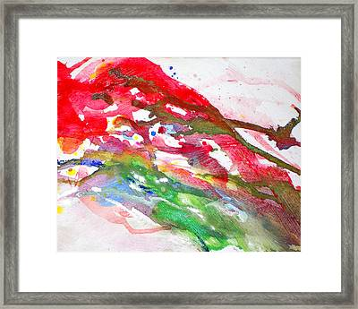 Paul's Flight Framed Print