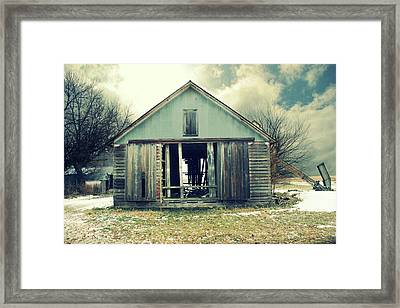 Paulsons Crib Framed Print by Julie Hamilton