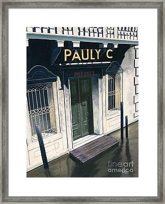 Pauly C. Fornache Framed Print