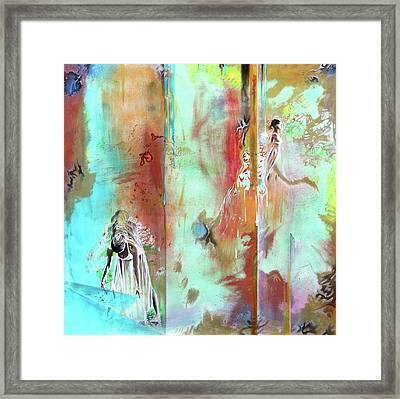 Pause In The Reconstruction Of Doubt  Framed Print