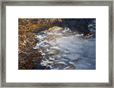 #pauseandreflect Framed Print by Becky Furgason