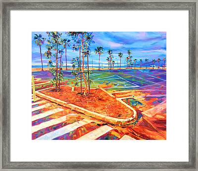 Paved Paradise Framed Print by Bonnie Lambert