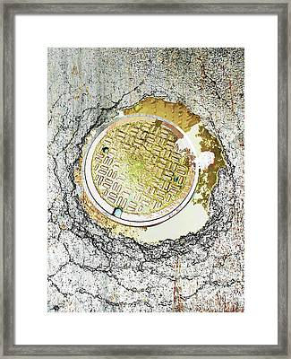 Paved With Gold Framed Print