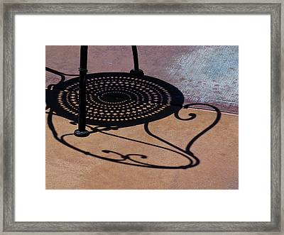 Pavement Variations Framed Print by Bonnie See