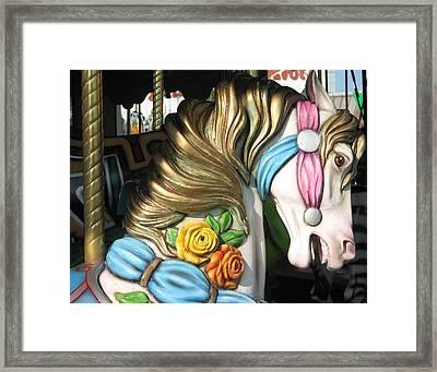 Pavilion Princess Framed Print by Kelly Mezzapelle