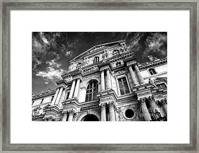 Pavillon Richelieu Framed Print