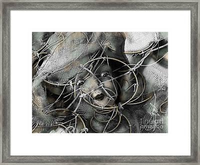 Pavor Nocturnus Framed Print by Bob Salo