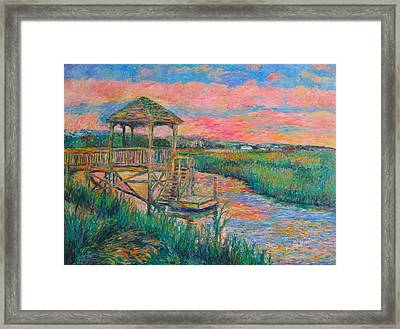 Pawleys Island Atmosphere Stage Two Framed Print