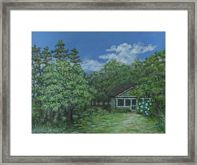 Pawleys Island Blue Framed Print