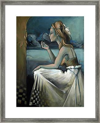 Pawn For The Prince Of Darkness Framed Print by Jacque Hudson