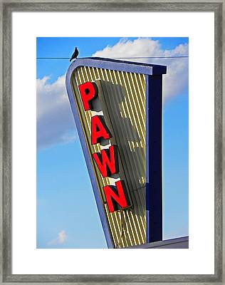 Pawn It Framed Print