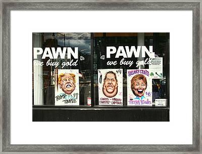 Pawn Shop Humor Framed Print