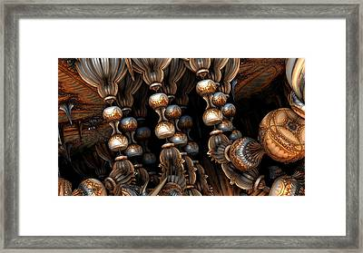 Pawns Framed Print