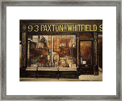 Paxton Whitfield .london Framed Print by Tomas Castano