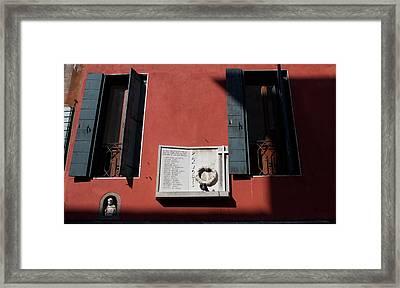 Paxvobis Framed Print by Mark J Dunn