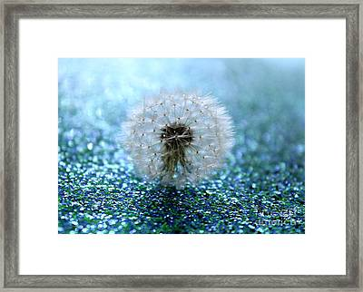 Pay Attention To This Very Moment Framed Print by Krissy Katsimbras