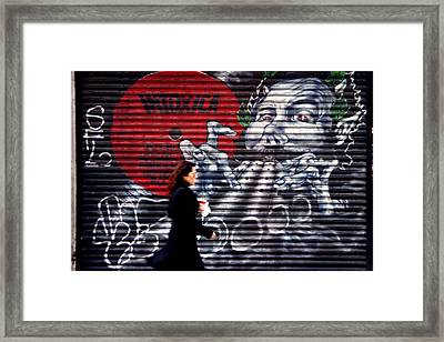 Pay The Piper Framed Print by Jez C Self