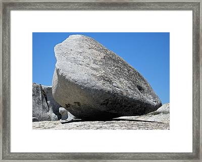 Pay The Stone - Bald Rock 2016 Framed Print by James Warren