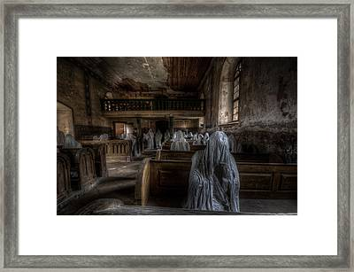 Praying For Better Times Framed Print by Nathan Wright