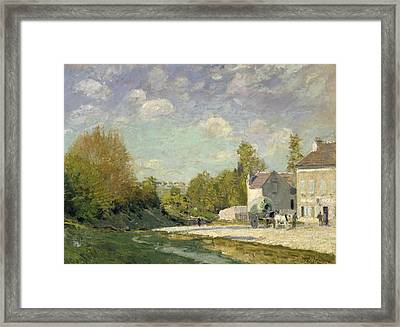 Paysage Framed Print by Alfred Sisley