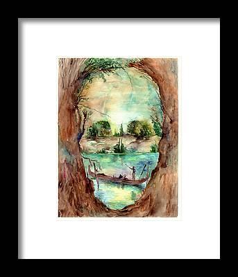 Paysage Framed Prints