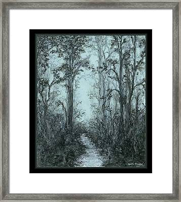Pazienza Framed Print by Leslie Rhoades