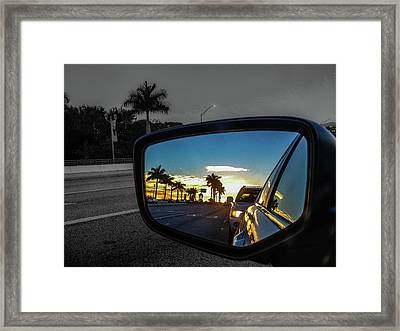 Pb Drive Framed Print