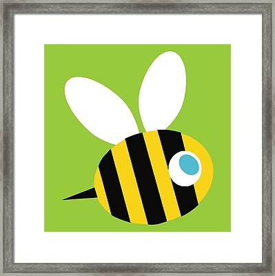 Pbs Kids Bee Framed Print