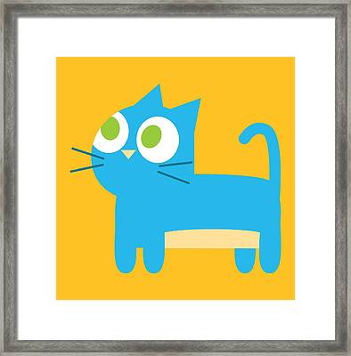 Pbs Kids Cat Framed Print