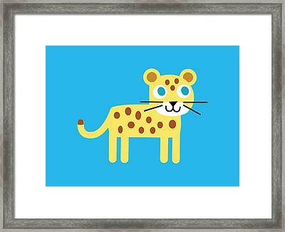 Pbs Kids Jaguar Framed Print by Pbs Kids