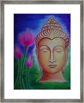 Peace Framed Print by Aakash Pawar