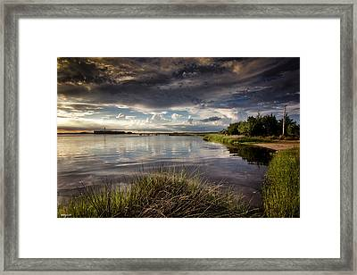 Peace Along The Cape Fear Framed Print by Phil Mancuso