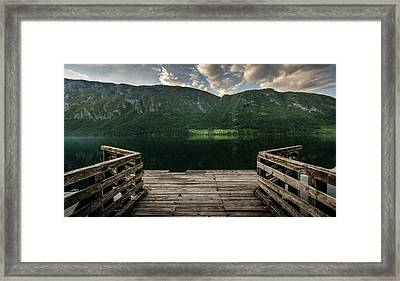 Peace And Clarity Framed Print