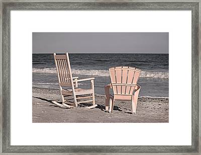 Peace And Purpose Framed Print by Betsy Knapp