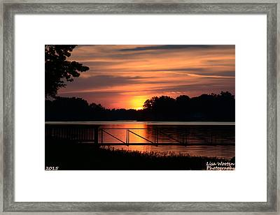 Peace And Quiet Framed Print by Lisa Wooten
