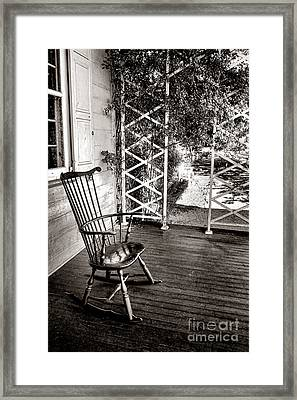 Peace And Quiet Framed Print by Olivier Le Queinec