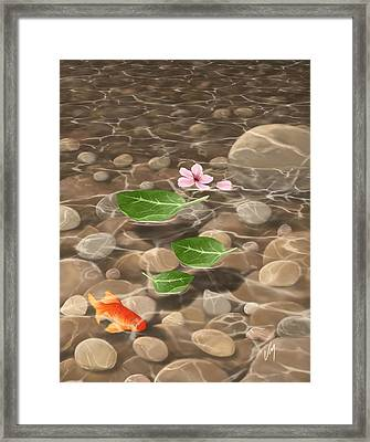 Peace And Quiet Framed Print