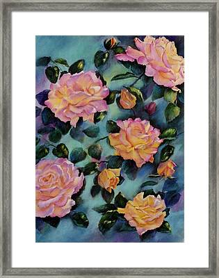 Framed Print featuring the painting Peace by Ann Peck