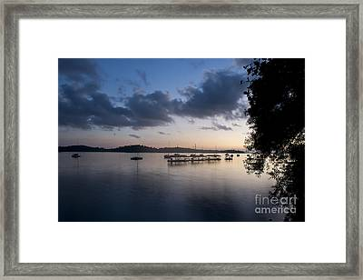 Peace Before Sunrise Framed Print