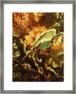 Peace Bleeding  Framed Print by Pralhad Gurung