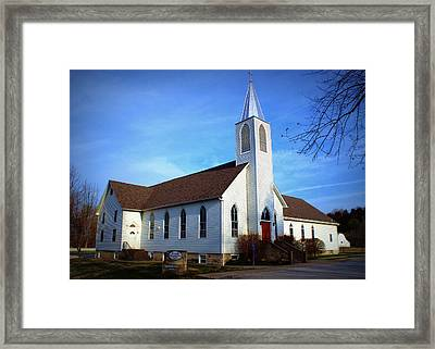 Peace Church Framed Print