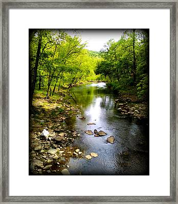 Peace Creek Framed Print by Lesli Sherwin