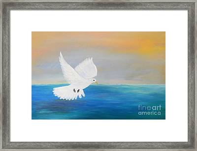 Peace Descending Framed Print