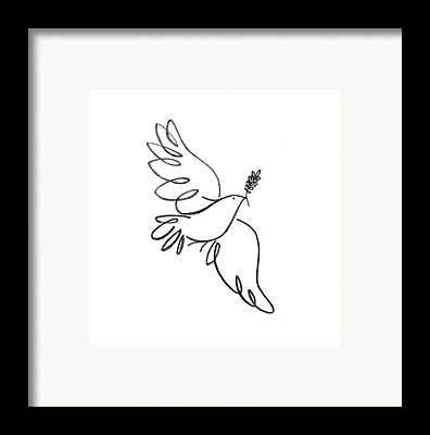 Dove Framed Prints