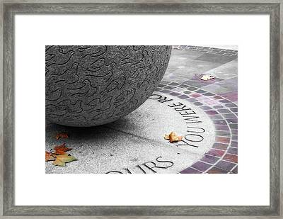 Peace Memorial Framed Print by JAMART Photography