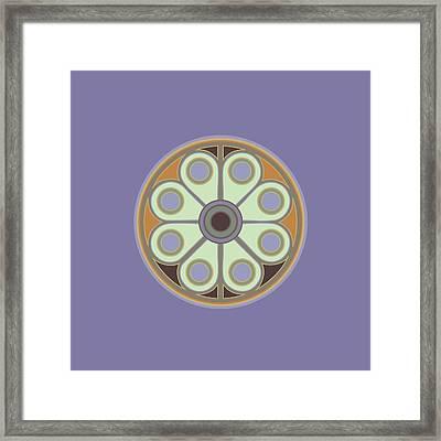 Peace Flower Framed Print