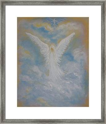 Peace From An Angel  Framed Print