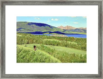 Peace Framed Print by Gordon Bell