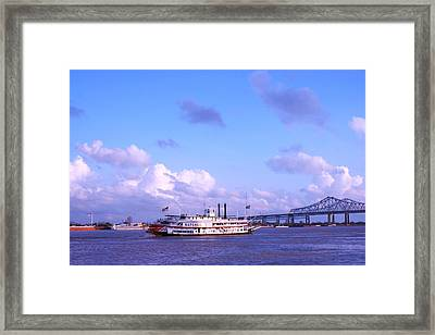 Peace Framed Print by Gracey Tran