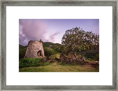 Framed Print featuring the photograph Peace Hill Ruins by Adam Romanowicz